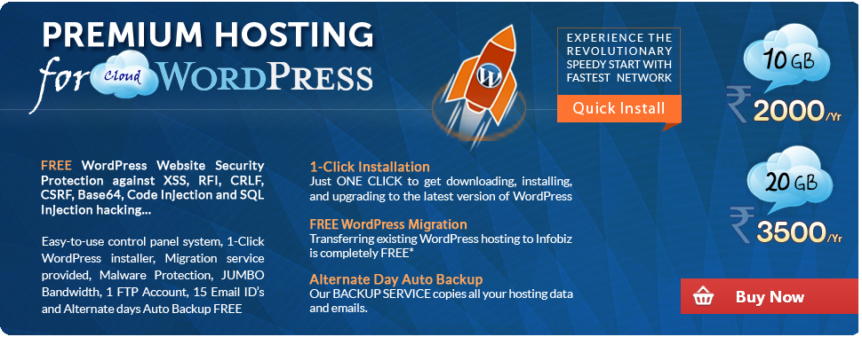 Cloud Wordpress Hosting